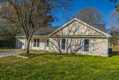 Summerville Single Family Home For Sale: 121 Crooked Creek Court