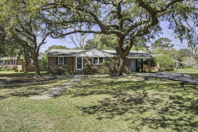 Charleston Single Family Home For Sale: 325 Stinson Drive