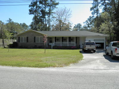 Walterboro Single Family Home For Sale: 215 Gervais Street