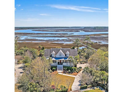 Charleston SC Single Family Home For Sale: $1,799,000
