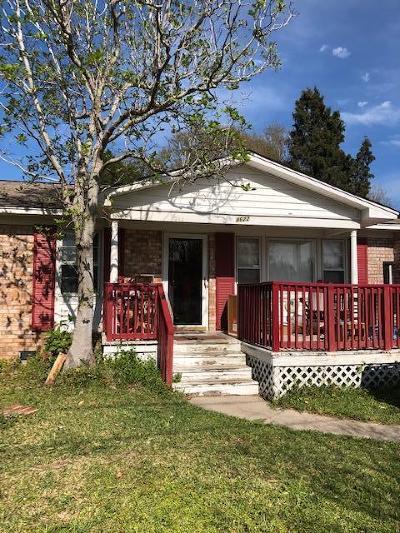 North Charleston Single Family Home For Sale: 4622 Glenn Street