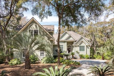 Seabrook Island Single Family Home For Sale: 2660 Gnarled Pine