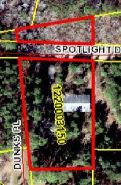 Residential Lots & Land For Sale: Spotlight Drive