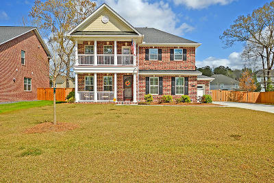 North Charleston Single Family Home For Sale: 5430 Clearview Drive