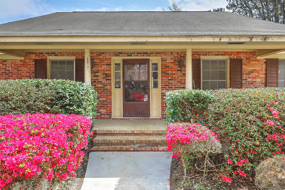 Johns Island Single Family Home For Sale: 6072 Overlook Road