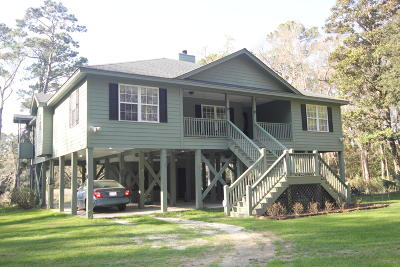 Edisto Island Single Family Home For Sale: 8346 Chisolm Plantation Road