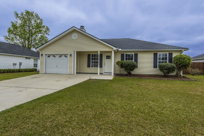 North Charleston Single Family Home For Sale: 8392 Waltham Road