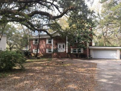 Charleston Single Family Home Contingent: 2528 Etiwan Avenue