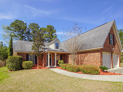 Summerville Single Family Home For Sale: 125 Royal Troon Court