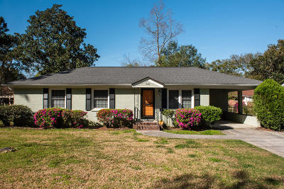 Charleston Single Family Home For Sale: 743 Magnolia Road