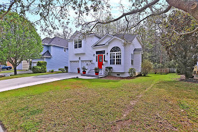 Charleston Single Family Home For Sale: 663 Fair Spring Dr