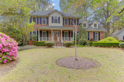 Charleston Single Family Home For Sale: 1683 Seignious Drive