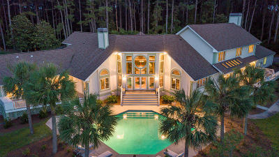 Johns Island Single Family Home For Sale: 3282 Bohicket Road