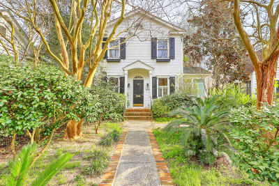Charleston Single Family Home For Sale: 135 Beaufain Street