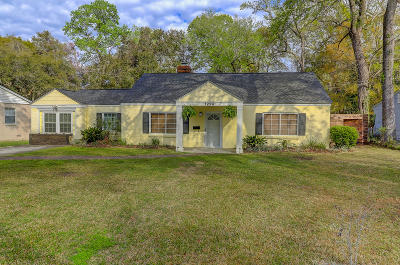 Charleston Single Family Home For Sale: 1224 Kruger Avenue