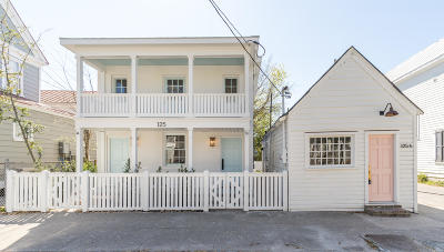 Charleston Multi Family Home For Sale: 125 Line Street #A&B
