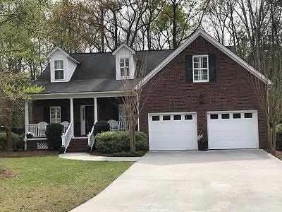 North Charleston Single Family Home For Sale: 8611 Woodland Walk