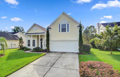 Charleston Single Family Home For Sale: 1013 Tyron Circle