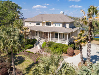 Seabrook Island Single Family Home For Sale: 1405 Nancy Island Drive