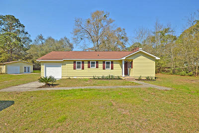 Johns Island Single Family Home For Sale: 3650 Benjamin Road