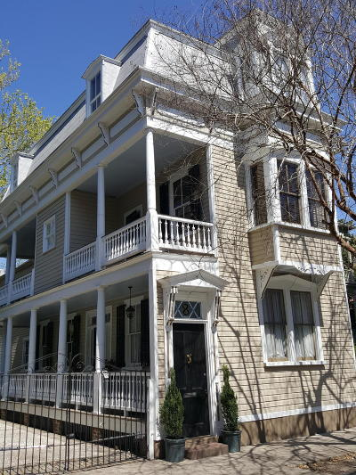 Charleston Single Family Home For Sale: 8 Montagu Street