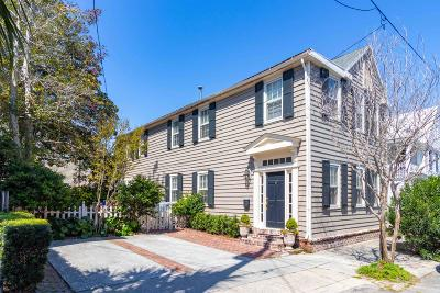 Charleston Single Family Home For Sale: 3 Council Street