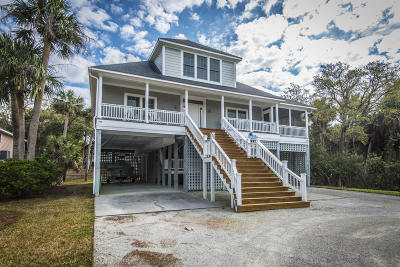 Edisto Beach Single Family Home Contingent: 807 Cheehaw Street