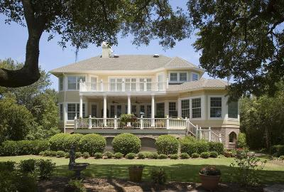 Seabrook Island Single Family Home For Sale: 2260 Bohicket Creek Place