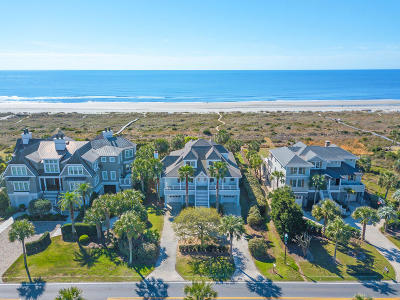 Isle Of Palms Single Family Home For Sale: 3800 Palm Boulevard