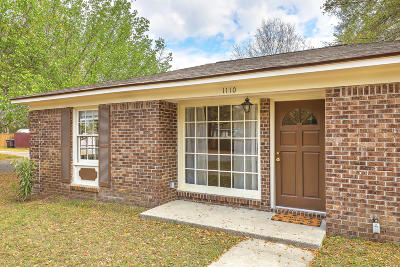 Mount Pleasant Single Family Home Contingent: 1110 N Shadow Drive