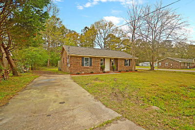 Summerville Single Family Home Contingent: 204 Ruth Anne Drive