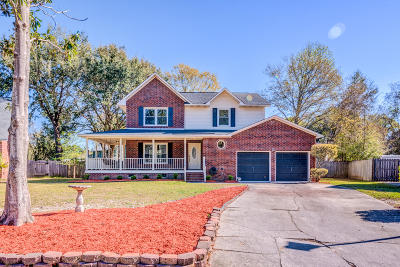 Goose Creek Single Family Home Contingent: 241 Dillard Drive