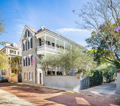 Charleston Single Family Home For Sale: 18 Church Street