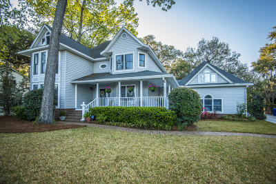 Charleston Single Family Home For Sale: 1623 Seignious Drive