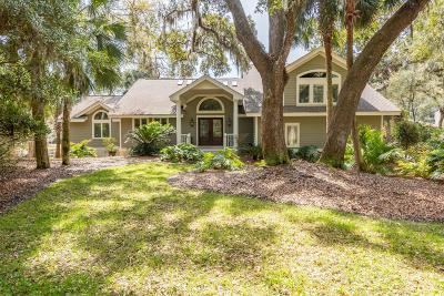 Seabrook Island Single Family Home For Sale: 2471 The Bent Twig