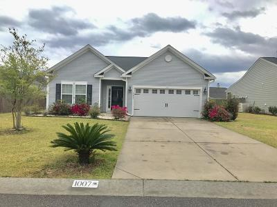Berkeley County Single Family Home For Sale: 1007 Halfacre Lane