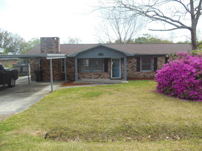 Goose Creek Single Family Home Contingent: 136 Jean Wells Drive