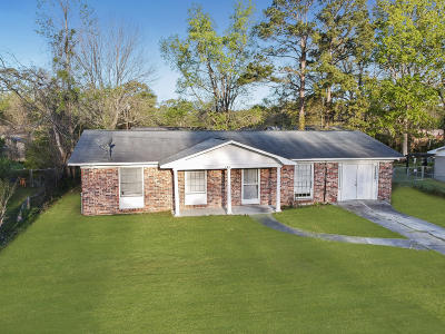 Goose Creek Single Family Home Contingent: 123 Jean Wells Drive