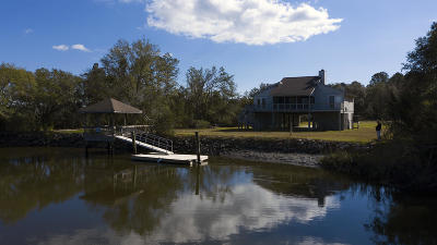 Edisto Island Single Family Home For Sale: 7722 Blue House Lane