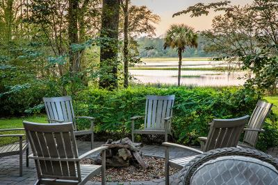 Johns Island Single Family Home For Sale: 3092 Bohicket Road