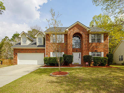 Goose Creek Single Family Home Contingent: 110 N Pembroke Drive