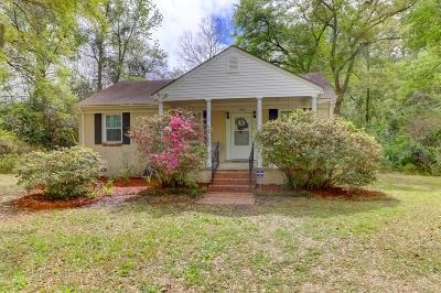 Charleston Single Family Home Contingent: 1740 Dogwood Road