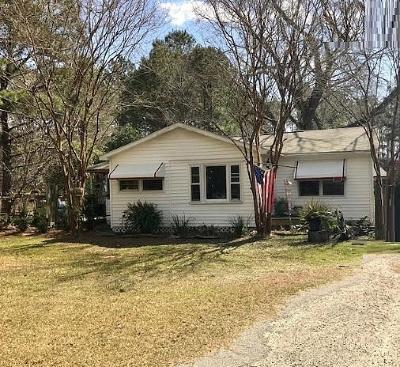 Awendaw Single Family Home For Sale: 7477 N Hwy 17