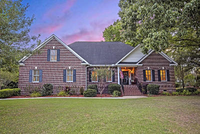 Johns Island Single Family Home For Sale: 3914 Egret Pond Court