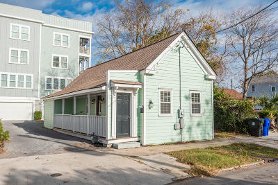 Charleston Single Family Home Contingent: 400 Sumter Street