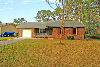 Charleston Single Family Home For Sale: 2896 Ashley River Road