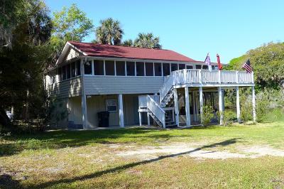 Edisto Beach SC Single Family Home Contingent: $349,000