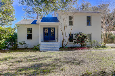 Mount Pleasant Single Family Home For Sale: 1103 Garland Road