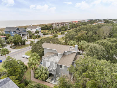 Isle Of Palms Single Family Home For Sale: 3901 Palm Boulevard