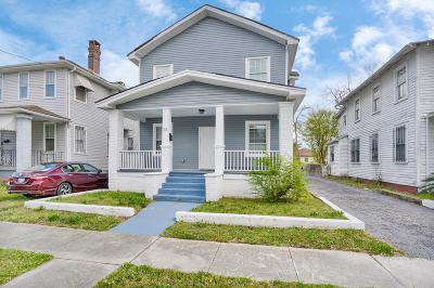 Charleston Single Family Home For Sale: 55 Maple Street